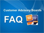 Customer Advisory Board FAQ videos
